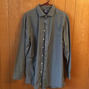 Stafford brand dark gray dress shirt